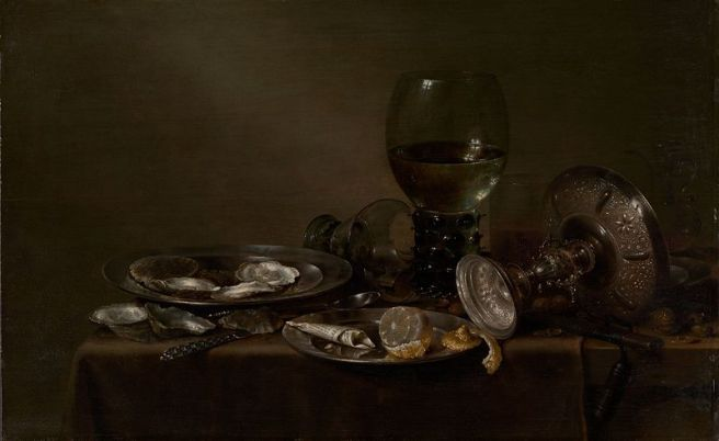 Willem Claesz. Heda, Still Life with Oysters, 1635 (Metropolitan Museum of Art, New York)
