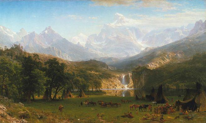 Albert Bierstadt, The Rocky Mountains, Lander's Peak, 1863, The Metropolitan Museum of Art