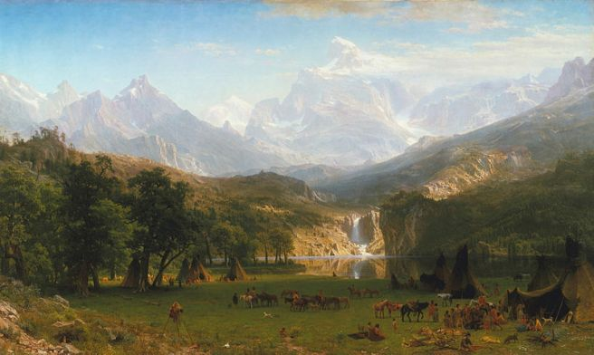 Albert Bierstadt, The Rocky Mountains, Lander's Peak, 1863, The Metropolitan Museum of Art