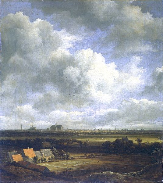 Jacob van Ruisdael, View of Haarlem with Bleaching Grounds, 1670–75, The Frick Collection