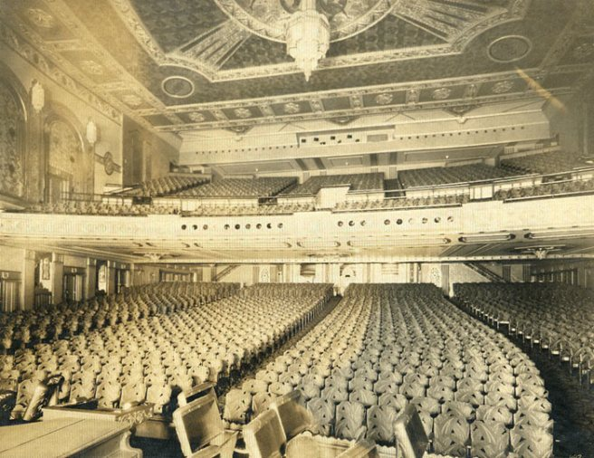 Auditorium- Copyright- The Irvin R. Glazer Collection, Athenaeum of philadelphia
