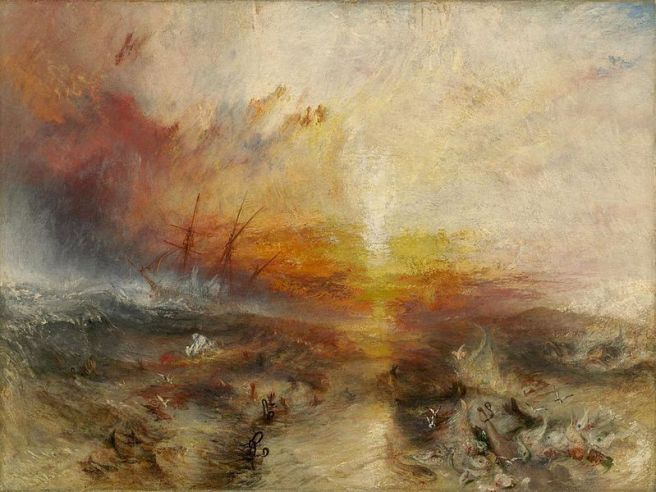 J. M. W. Turner, The Slave Ship, 1840 (Museum of Fine Arts, Boston)