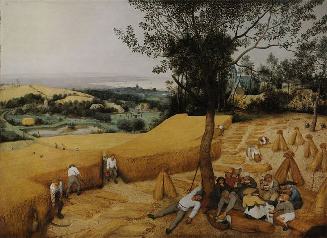 Pieter Bruegel the Elder, The Harvesters, 1565