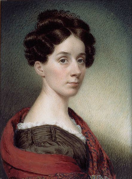 Sarah Goodridge, Self-Portrait, 1830 (originally posted to Flickr as Miniature Painting, Sarah Goodridge: Self Portrait by freeparking 2007-10-06 13:51:40)