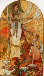Alphonse Mucha, Salammbo, 1896, lithograph