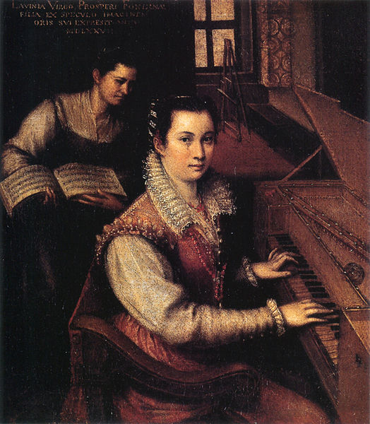 Fontana_Self-Portrait, 1577