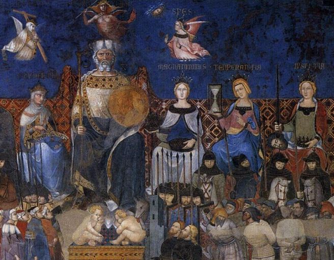 800px-Ambrogio_Lorenzetti_-_Allegory_of_the_Good_Government_(detail)_-_WGA13487