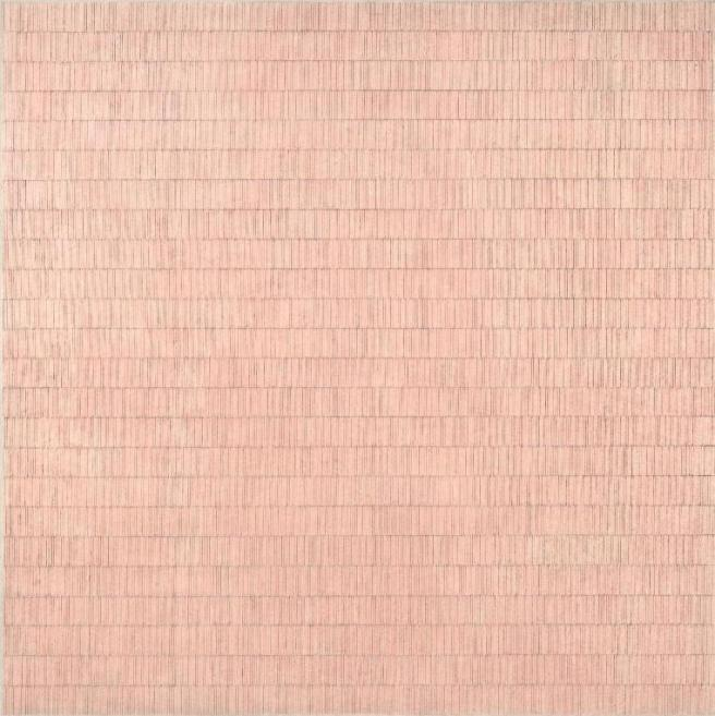 agnes-martin-flower-in-the-wind-1963-daros-collection-switzerland