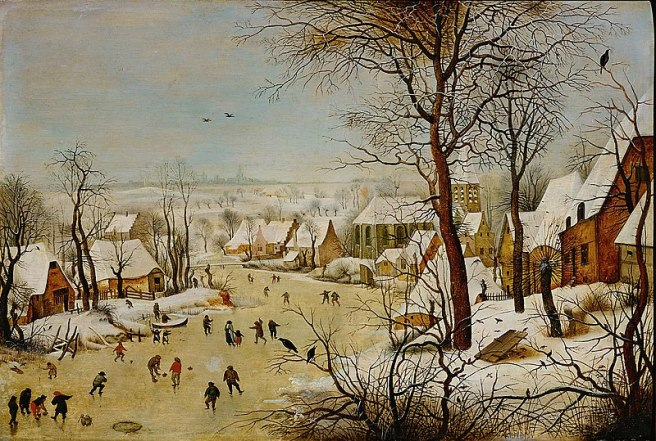 Breughel, Winter Landscape