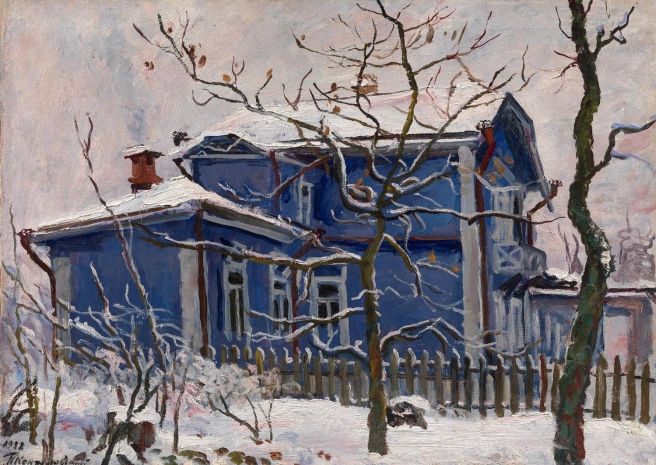 First Snow Blue Dacha