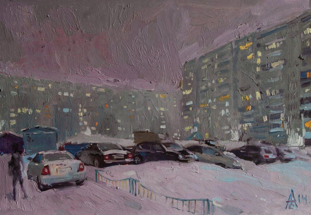 Evening Outdoors, Sergei Avdeev